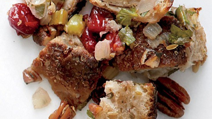 Cherry-Pecan Stuffing | Recipes- Veggies and Sides | Pinterest