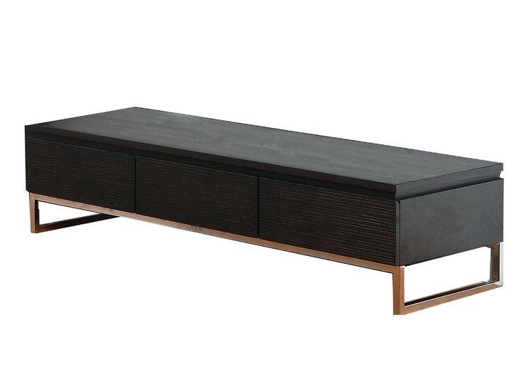meuble tv bois et fer  ID meubles  Pinterest ~ Meuble Bois Et Fer