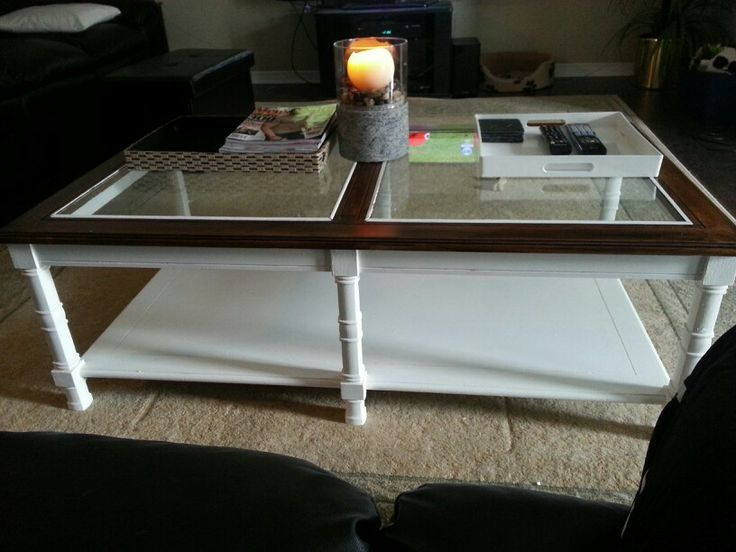 Refinished Coffee Table Do It Yourself Pinterest