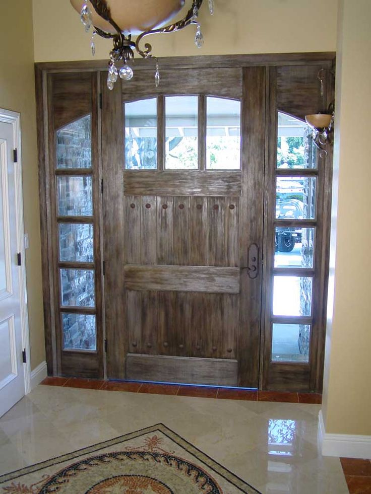 Pin by pierce on living room pinterest for Large wooden front doors