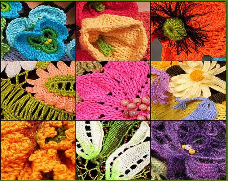 Crochet Flower Tutorial Sheru : Crochet Flowers From SHERU Studio Crochet Flower ...