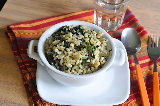 Spinach Rice - Zesty South Indian Kitchen