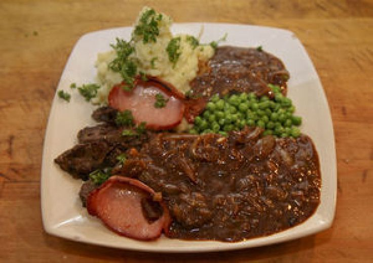 Liver & Onions with Gravy | Liver | Pinterest