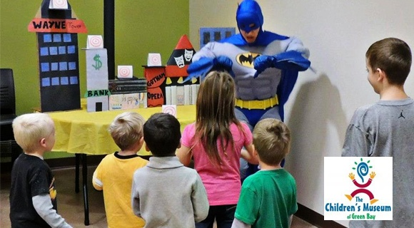 batman-birthday-party-at-the-Chidrens-Museum-of-Green-Bay, Wisconsin