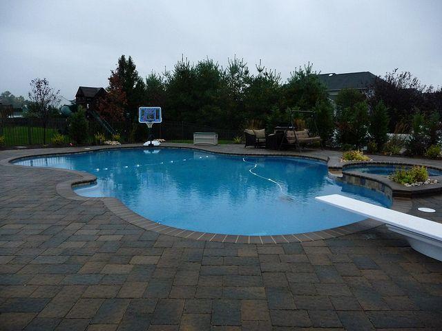 Freeform Swimming Pool Design Outdoors Pinterest