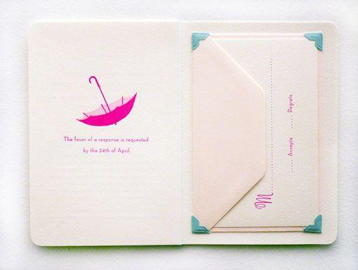 invitation booklet