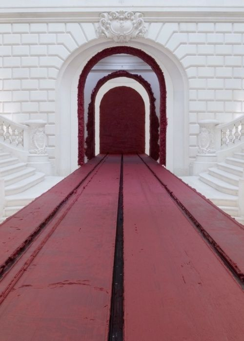 Svayambh by Anish Kapoor @ The Royal Academy Of Arts (2009)