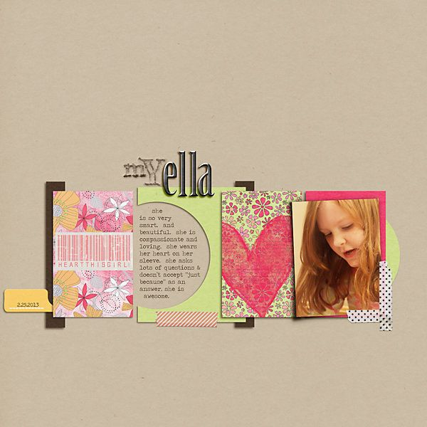 Journal Card Layout 03