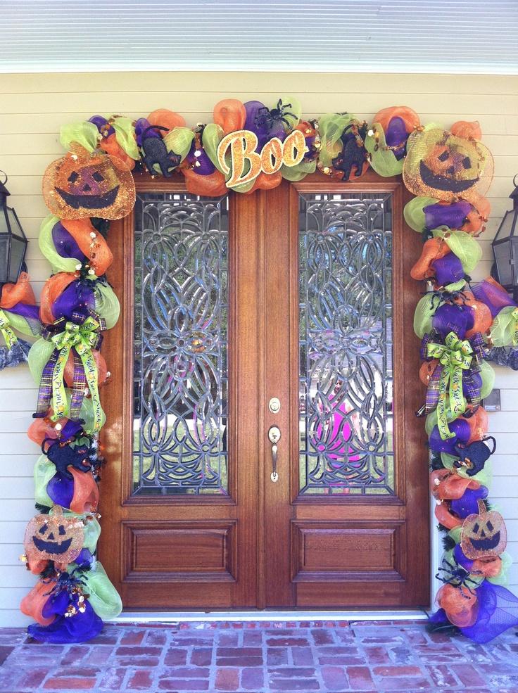 Decorate Your Front Door Halloween Pinterest