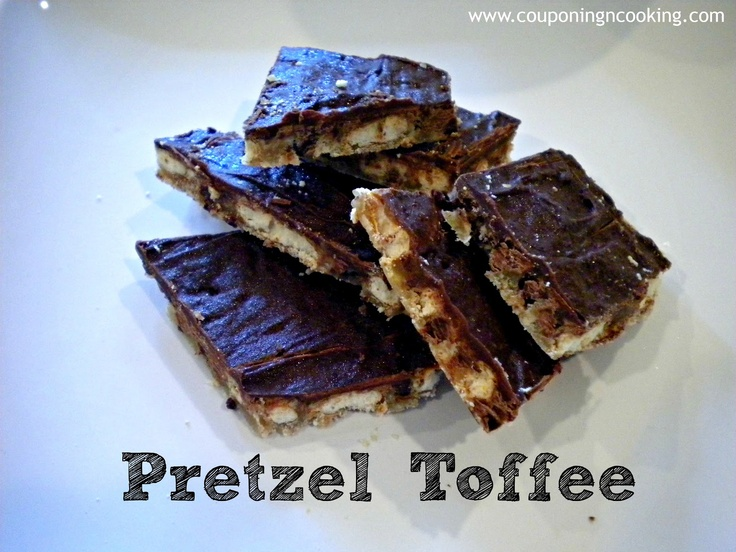 Chocolate Covered Pretzel Toffee | Food I'm going to try | Pinterest