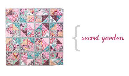 Pat Bravo - Secret Garden quilt pattern