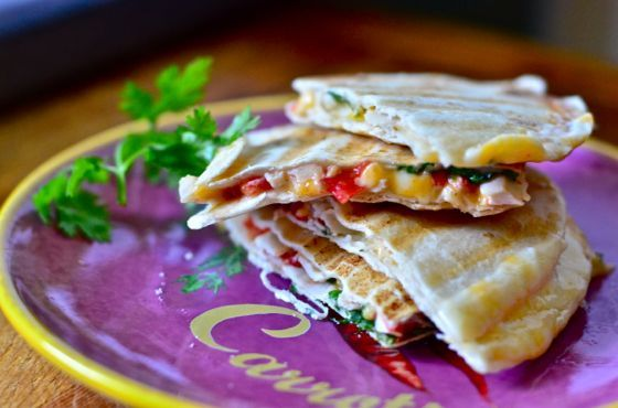 Quesadillas   My kind of food.   Pinterest