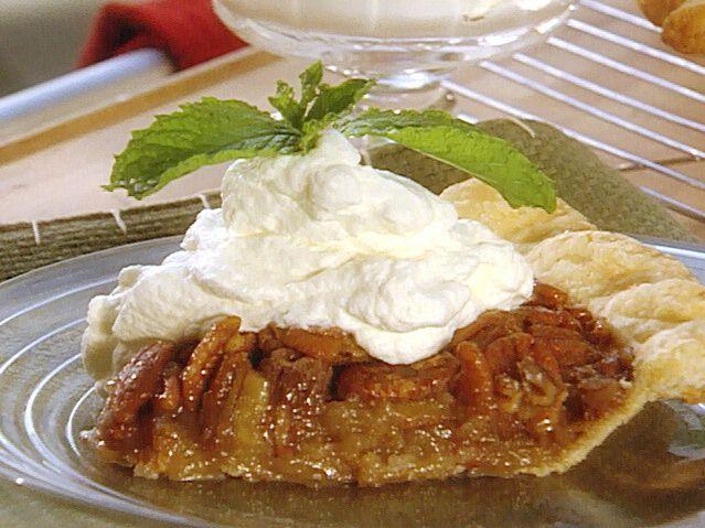 Bourbon Pecan Pie: aka Douglas' Dark Rum Pecan Pie.