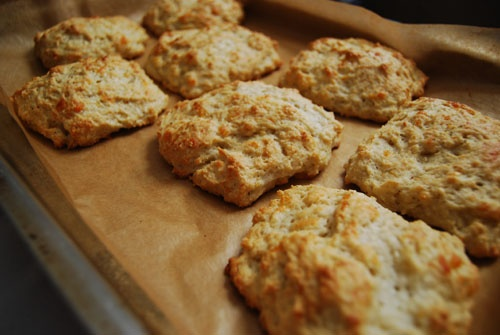 Cheddar, Parmesan, And Cracked Pepper Scones Recipe — Dishmaps