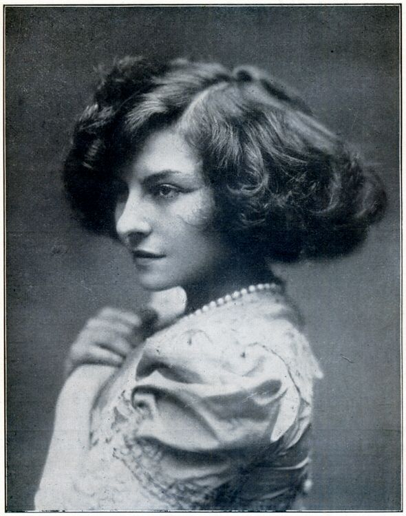 Polaire – Photographie Eugène Pirou – Vers 1905
