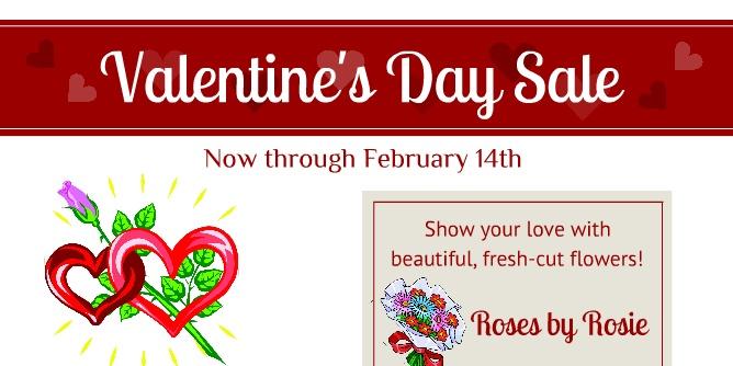 valentine day banner