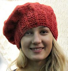 Hat in super soft Aran Free pattern