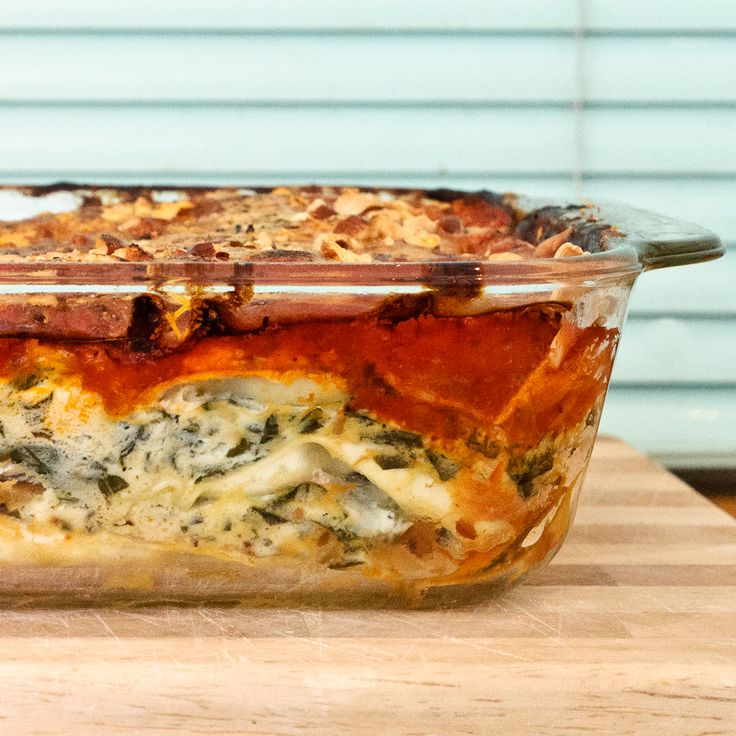 Pumpkin Lasagne Recipe — Dishmaps