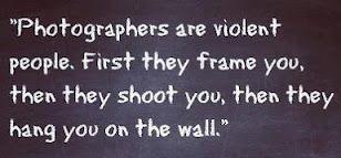Beware of photographers