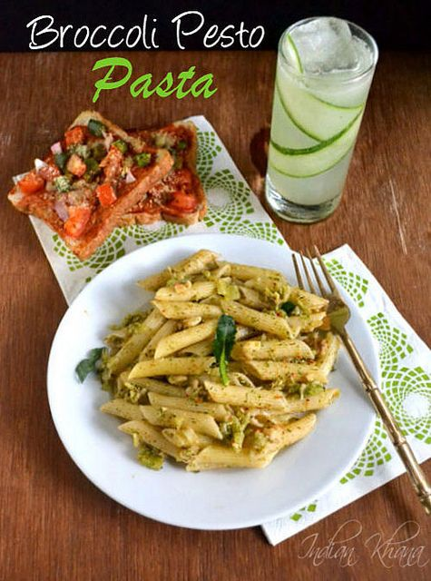Broccoli pesto pasta | Fabulous Food and Drink | Pinterest
