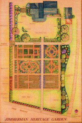Victorian Garden Design clever Pinterest