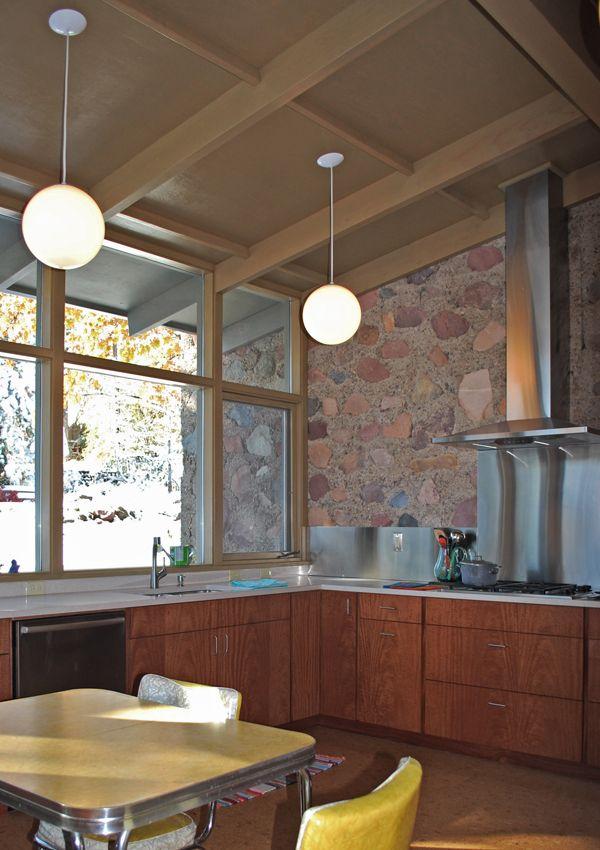 hmh mid century modern kitchen remodel mcm kitchen pinterest