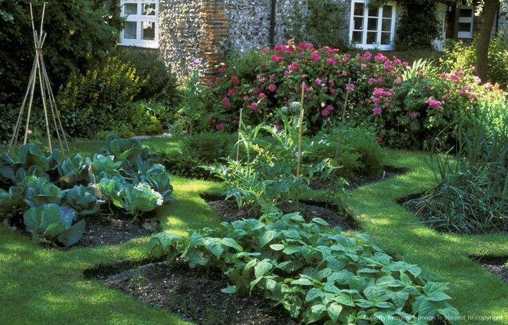 Pinterest for French vegetable garden design