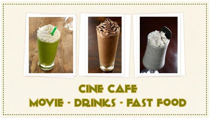 Cafe phim - Cine Cafe - Drink