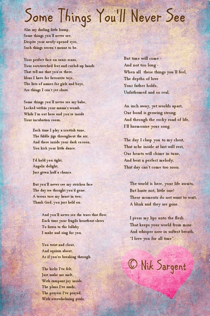 unborn baby poems - photo #18