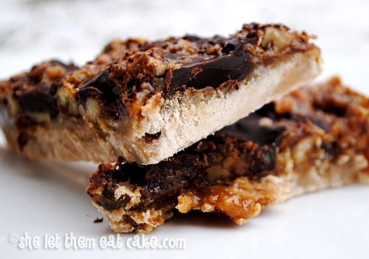 Chocolate Chunk Pecan Squares | Sweet Yums | Pinterest
