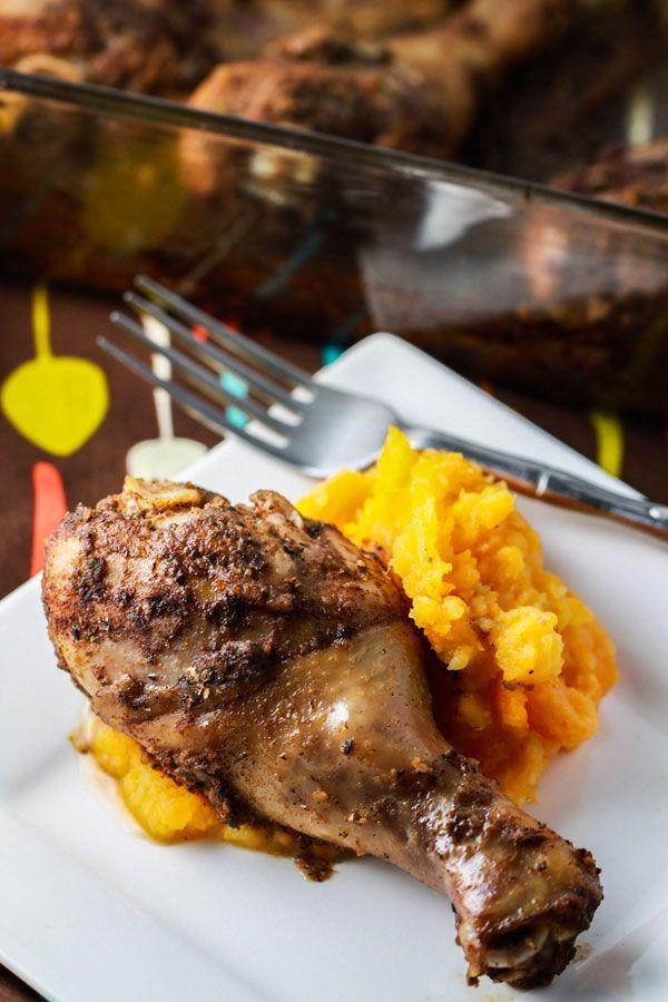 jamaican jerk chicken | @Main Dishes | Pinterest