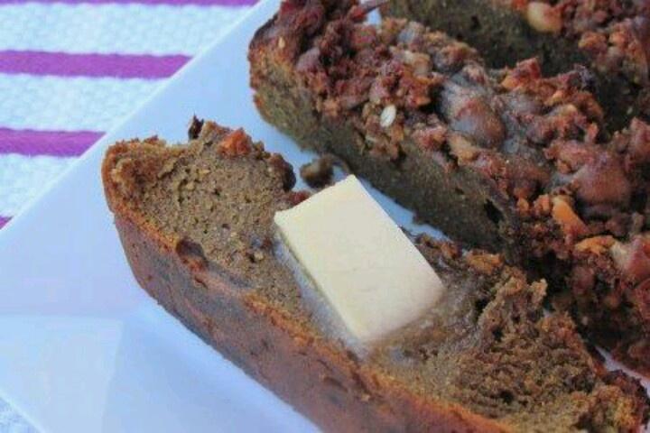 Pumpkin granola quick bread. | Bread | Pinterest
