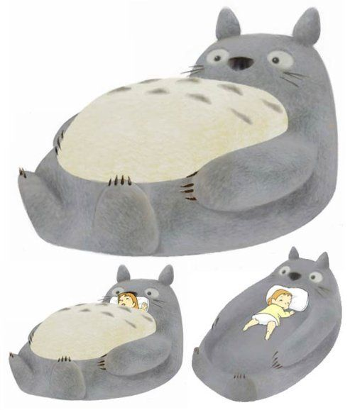 Totoro bed! | Thinking of BC | Pinterest