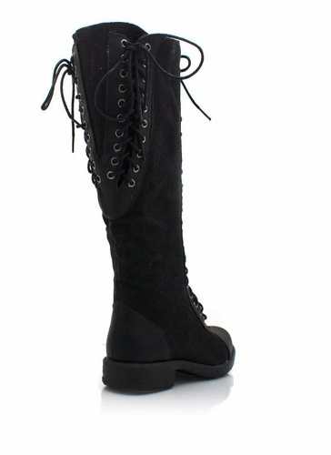 Lace up leather riding boots just ordered today so hard to find