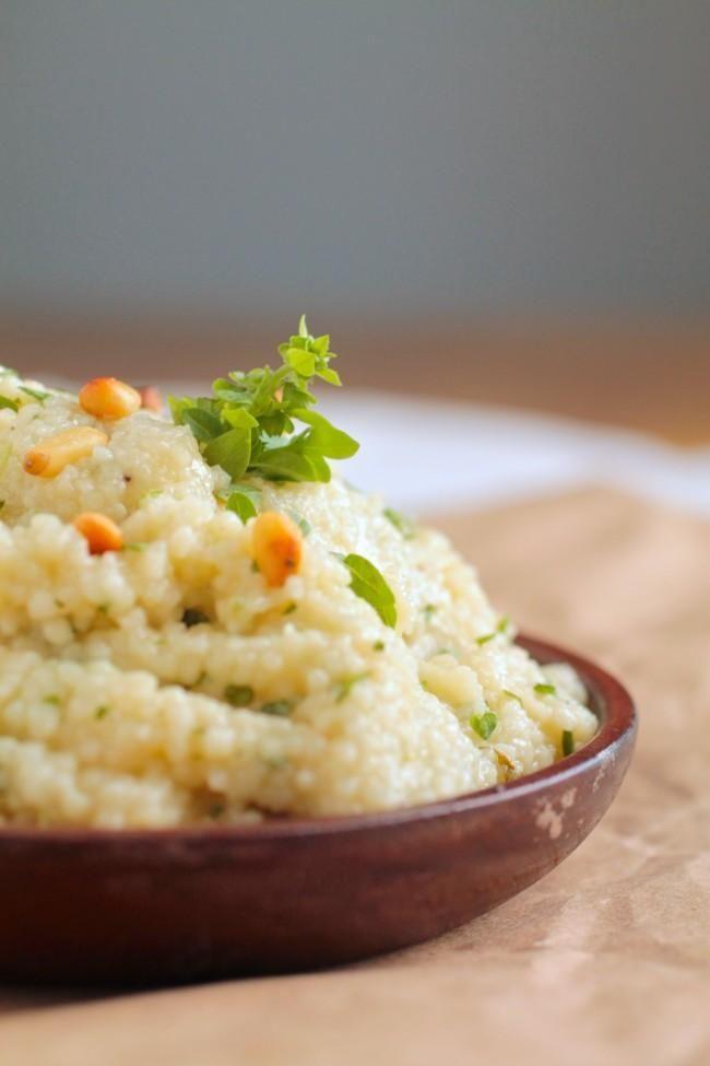 Salad Recipes : Lemony Herbed Couscous Salad Recipe #salad #recipes