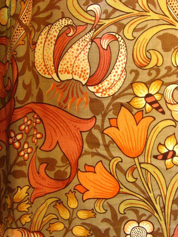 Modern floral drapes danish modern pinch pleat drapes curtains
