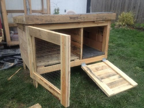 pallet rabbit hutch diy plans pallets pallets pallets