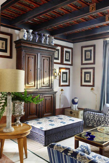 Living Room Veranda Magazine Old Cottage Interiors