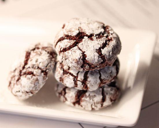 Chocolate Crackle Cookies | Cookielicius | Pinterest
