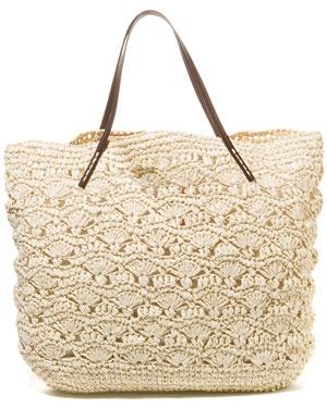Crochet Tote : Michael Stars Crochet Tote crochet bags Pinterest