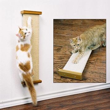 Wall mount scratcher animal stuff pinterest - Wall mounted cat scratcher ...