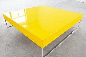 Yellow Coffee Table Ottoman Bomberos Pinterest