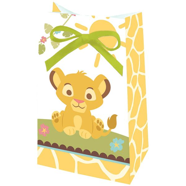 lion king baby favor bags baby pinterest