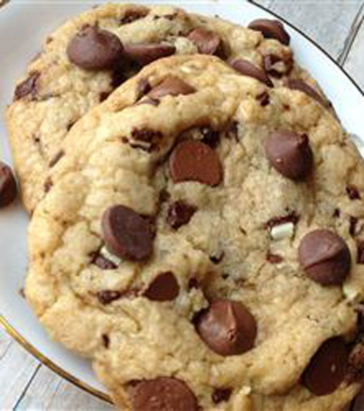 Best Big, Fat, Chewy Chocolate Chip Cookie | Cookies | Pinterest