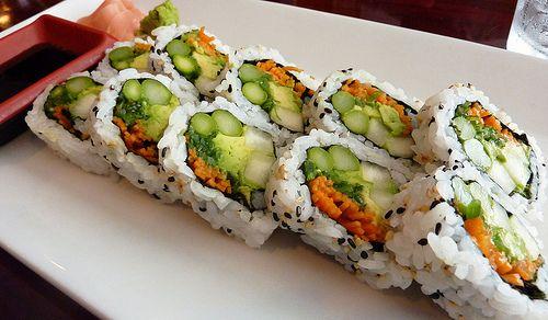 Vegetable Sushi | Delish Dishes - VEGAN | Pinterest