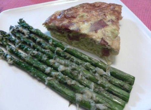 Asparagus, Leek, And Gruyere Quiche Recipe — Dishmaps