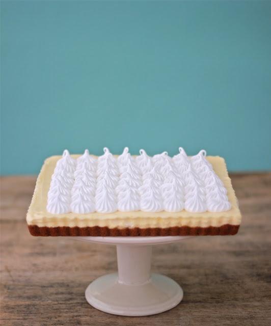 Lemon Mousse Tart | Tarts & pies | Pinterest