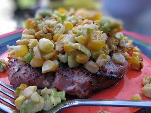 Roasted Corn Relish   Super Salads   Pinterest