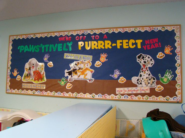 """One of my """"New Years"""" Bulletin Board. The students wrote things they ..."""