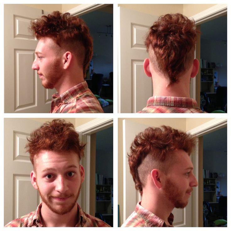undercut mohawkUndercut Mohawk Hairstyle